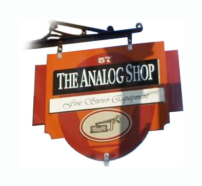 Analog Shop Sign / Johnson-Kennedy Funeral Home Sign