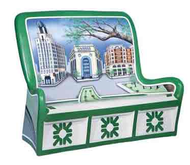 Citizen's Bank Bench